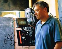 Ang Lee Autograph Photo Signed - Lif of Pi